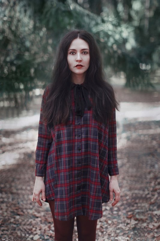 girl, portrait, forest, 85 mm, canon, wood, В лесуphoto preview