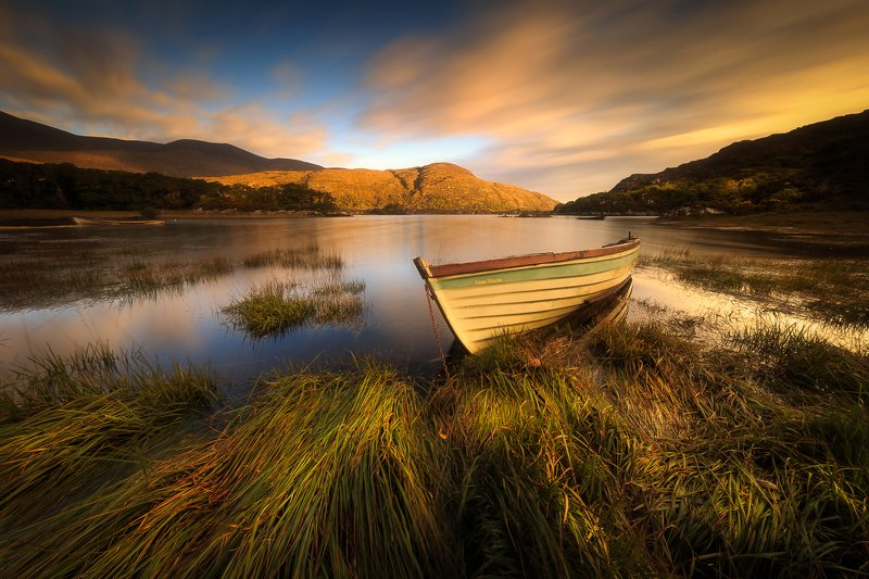 Ireland, Sunrise, Sunset, lake, clouds, long exposure, longexposure Killarney National Parkphoto preview