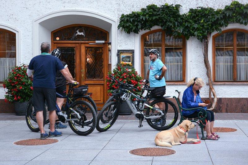 О друзьях велосипедистах и обеде по расписаниюphoto preview