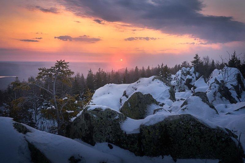 Утро на горе Белойphoto preview