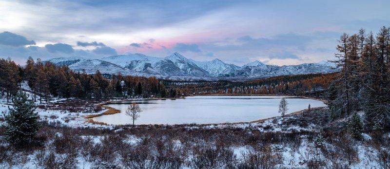 Озеро Киделю по утру.photo preview
