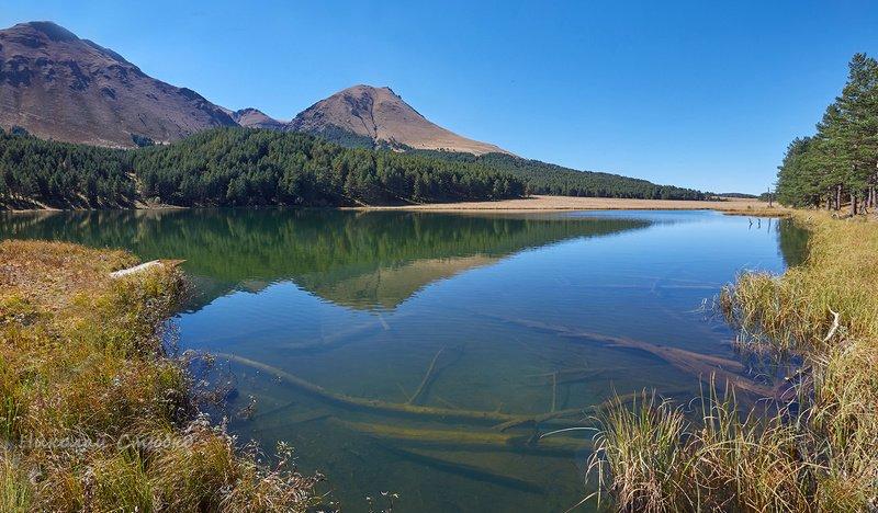 кавказ горы осень озеро хорлакёль Тёплой осеньюphoto preview