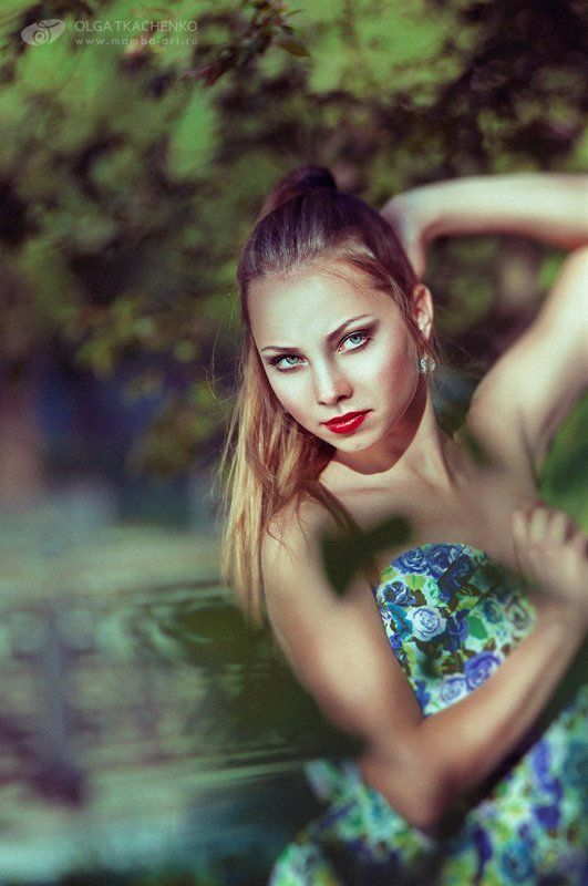spring, maria, photo, girl, trees, city, green, beautiful, women, model, Spring time...photo preview
