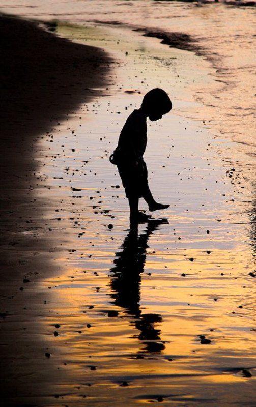 ....знакомство с вечерним океаном...photo preview