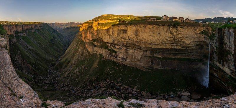 природа, пейзаж, горы, кавказ, природа россии, дикая природа, рассвет, свет, облака, утро, весна, *photo preview