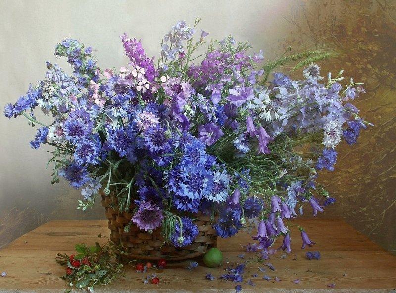 цветы, натюрморт, марина филатова, васильки Васильки, васильки...photo preview
