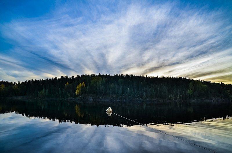 ладога, озеро, утро, осень, рассвет, Рассвет на Ладоге.photo preview