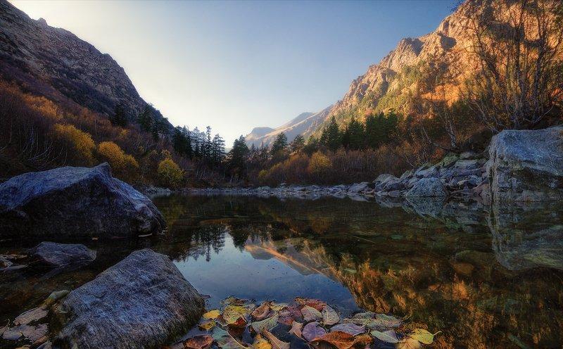 Осень на Бадукских озерах.photo preview