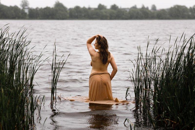 портрет, девушка Под песню дождяphoto preview