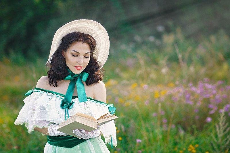 унесенные ветром, скарлет о`хара, женский портрет Скарлеттphoto preview