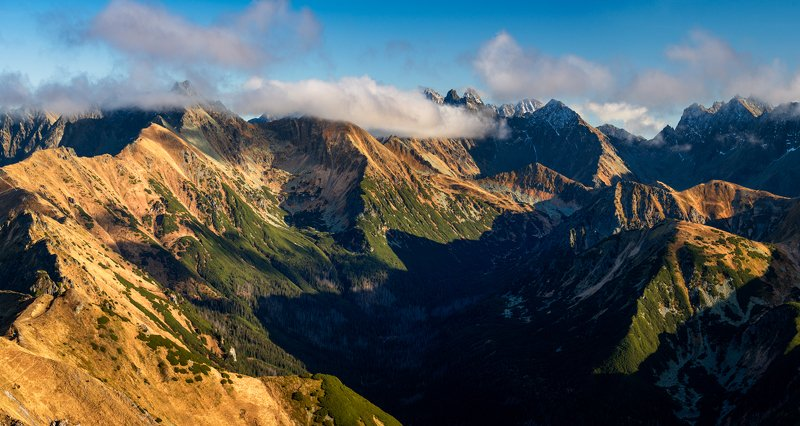 nature, autumn, landscape, colors, tatry, morning Tatryphoto preview