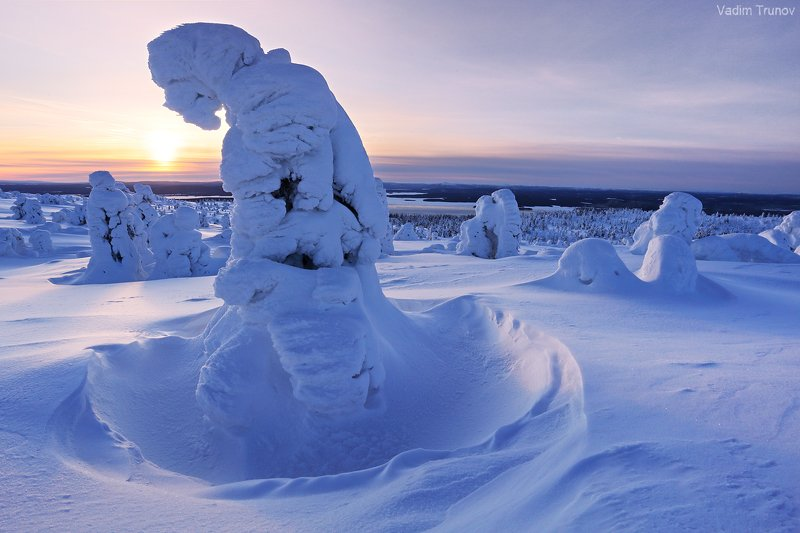 кольский, север, заполярье Маску снежную надел, чтоб Covid не одолел!photo preview
