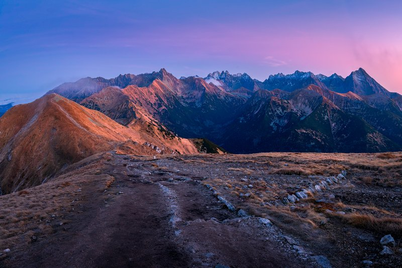 nature, autumn, landscape, colors, tatry, sunset Tatryphoto preview