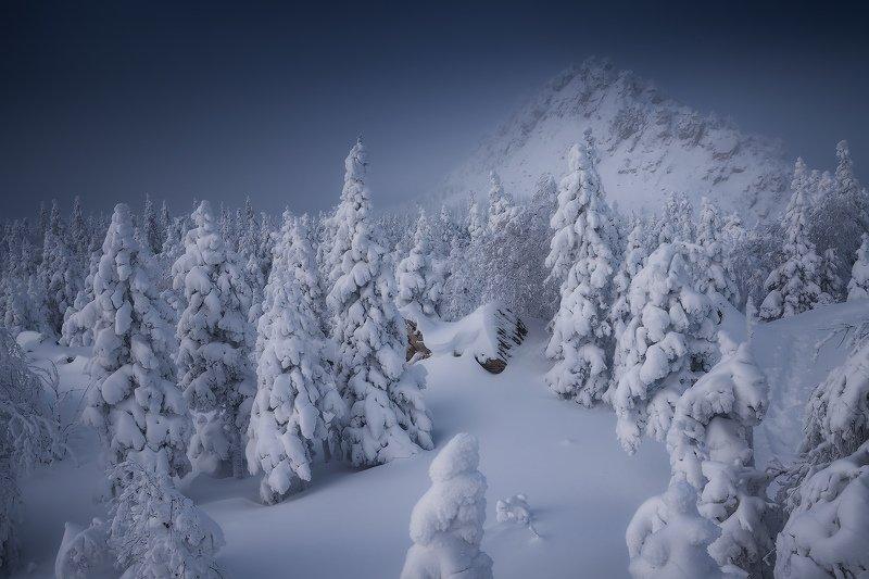 таганай, горы, урал, зима Заснеженный Откликнойphoto preview