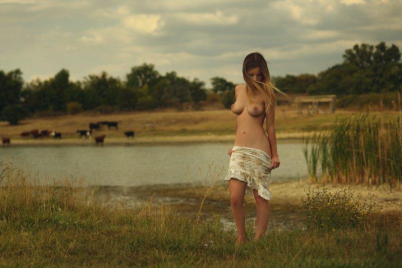 девушка, модель, ню Было летоphoto preview