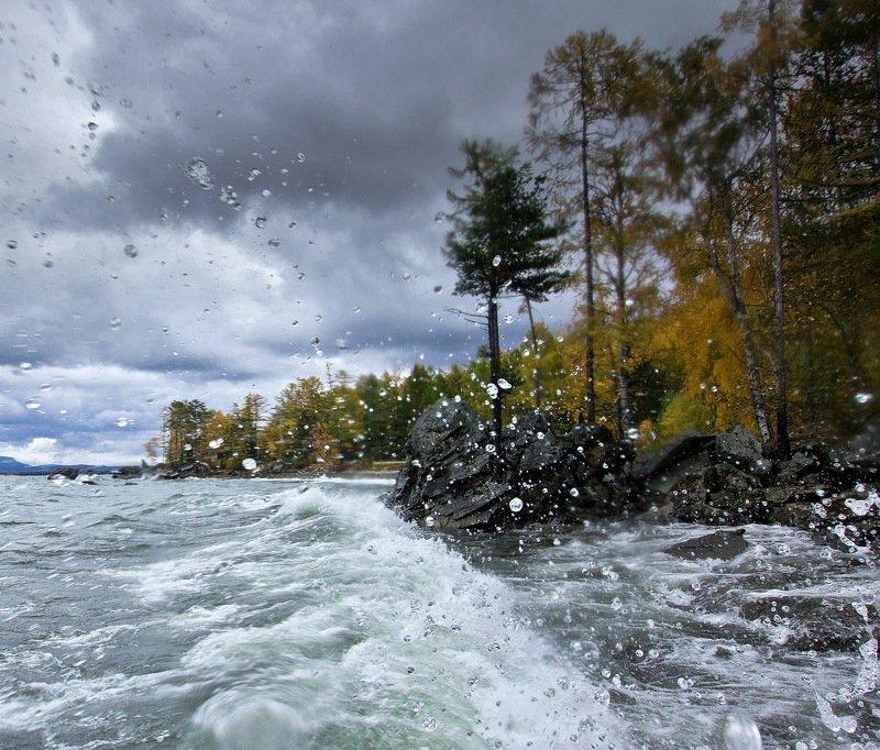 Байкал. Осенний штормphoto preview