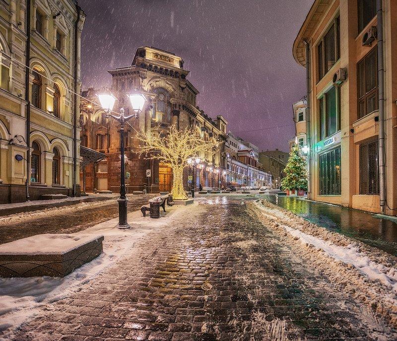 москва, новый год, улица Предновогодняяphoto preview