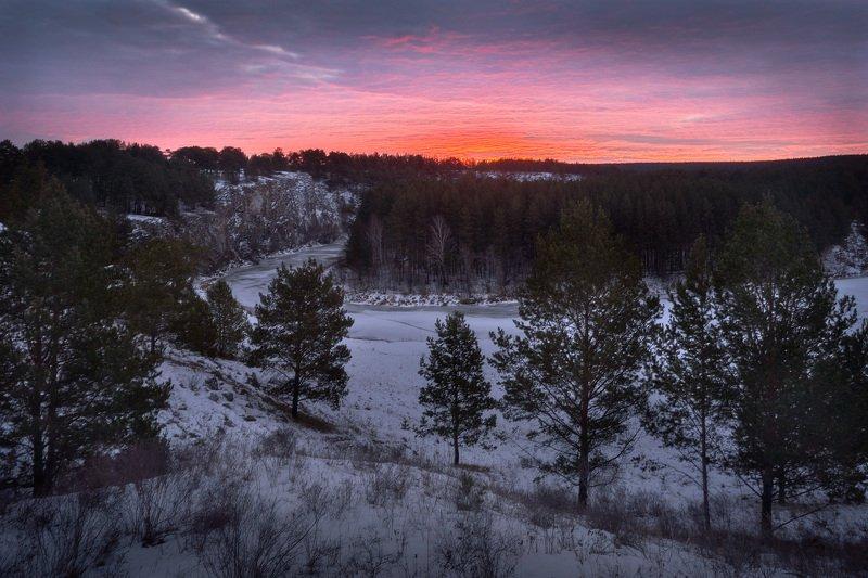 Перед восходомphoto preview
