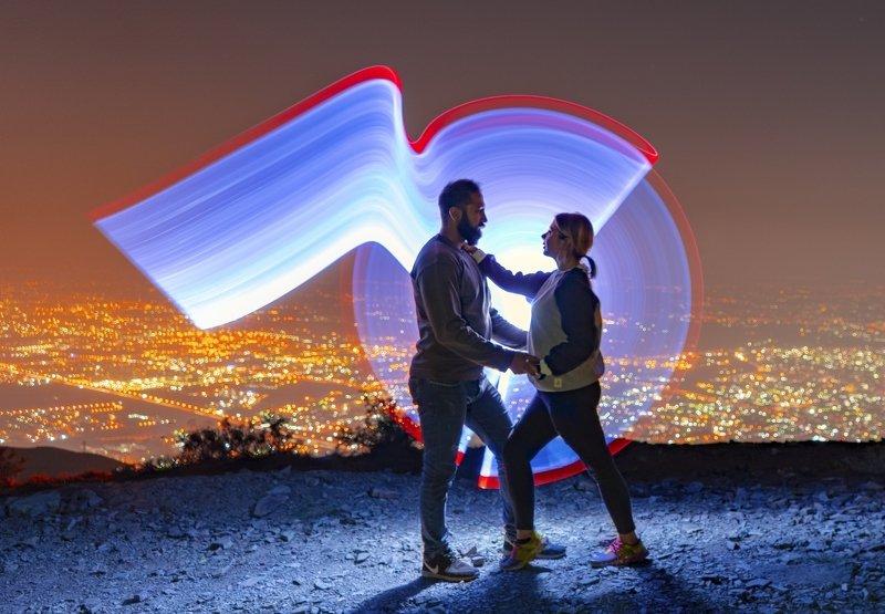 #night #lightpainting #city  Lightphoto preview