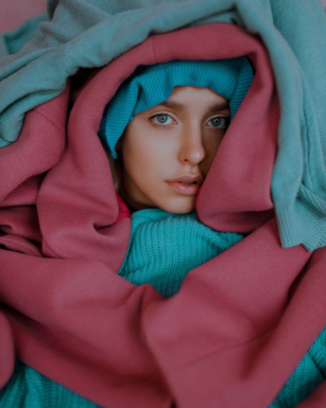portrait, портрет, girl, portraiture, outdoor, cyan, ламповый, retouch, ретушь, цвет, cinematic,цветок, тёплый, fineart, beauty, sweet, pink, face Valeriaphoto preview