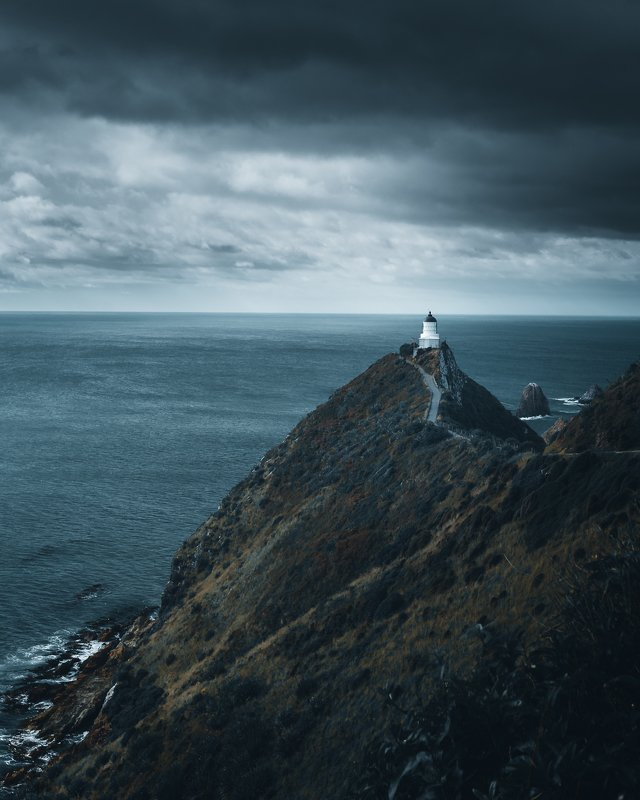 lighthouse, new zealand, travel, landscape, nature, architecture Lighthousephoto preview