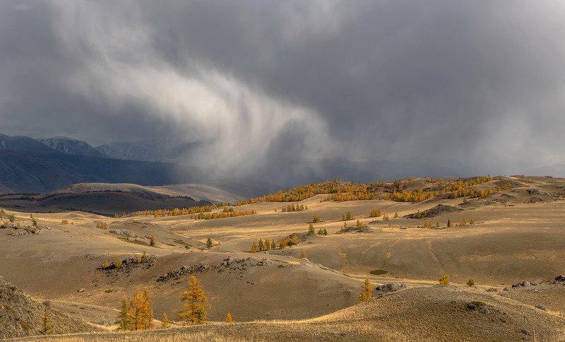 алтай.северо-чуйский хребет. Снеговая туча.photo preview