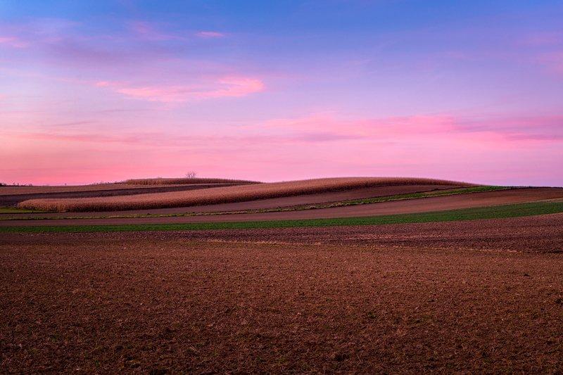nature, autumn, landscape, colors, sunset Hillsphoto preview