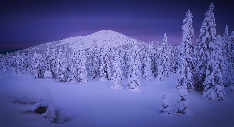 таганай, урал, зима, горы Круглицаphoto preview