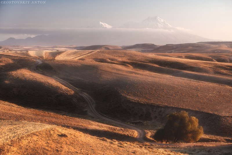 вулкан, поля, закат, горы, фототур, С видом на горыphoto preview