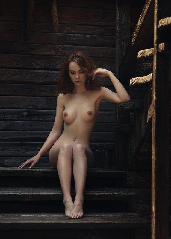 девушка, модель, ню Елизаветаphoto preview