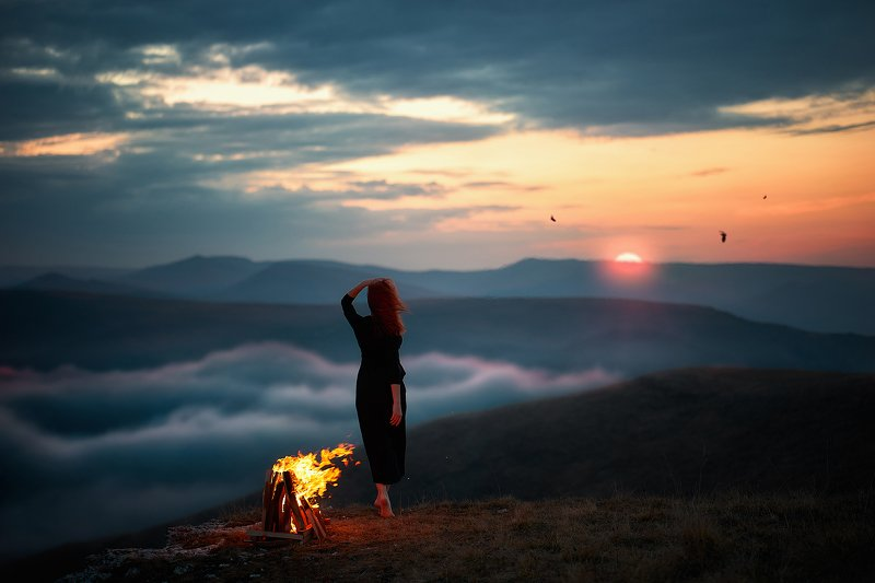 mountain, sunset, sky, landscape, silhouette, nature, people, hiking, mountains, travel, hiker, view, top, rock, sunrise, sea, beach, woman, peak, clouds, person, sun, walking, beautiful, night, fire last hopephoto preview