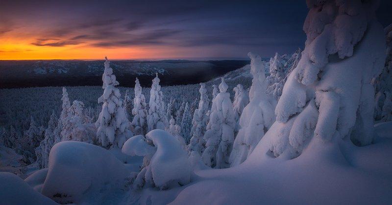 таганай, горы, зима, урал На склонах Таганаяphoto preview