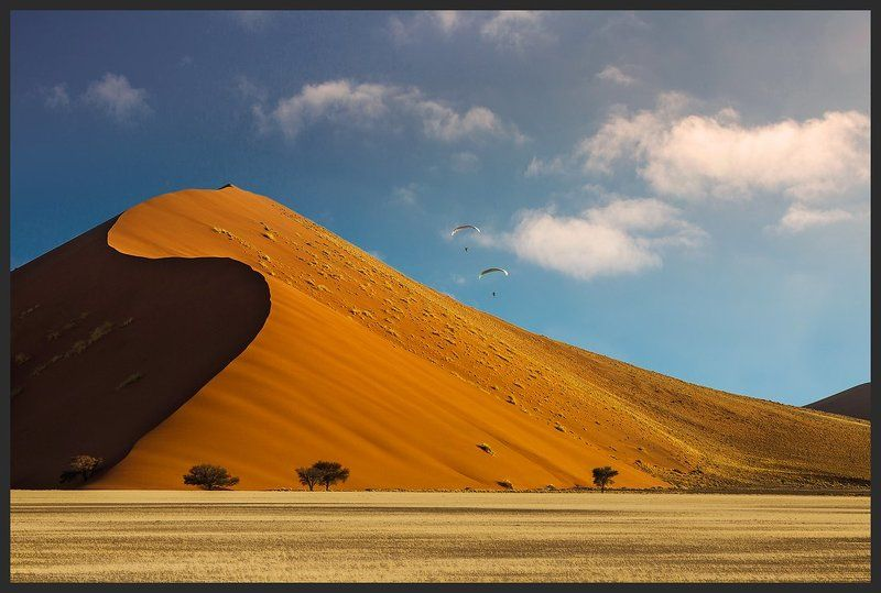 Намибия Парящие над пескамиphoto preview
