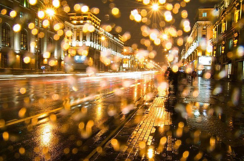 Город, Дождь, Минск ***photo preview