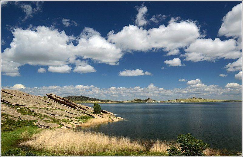вода, весна,озеро, окуньки На озере Дубыгалинскомphoto preview