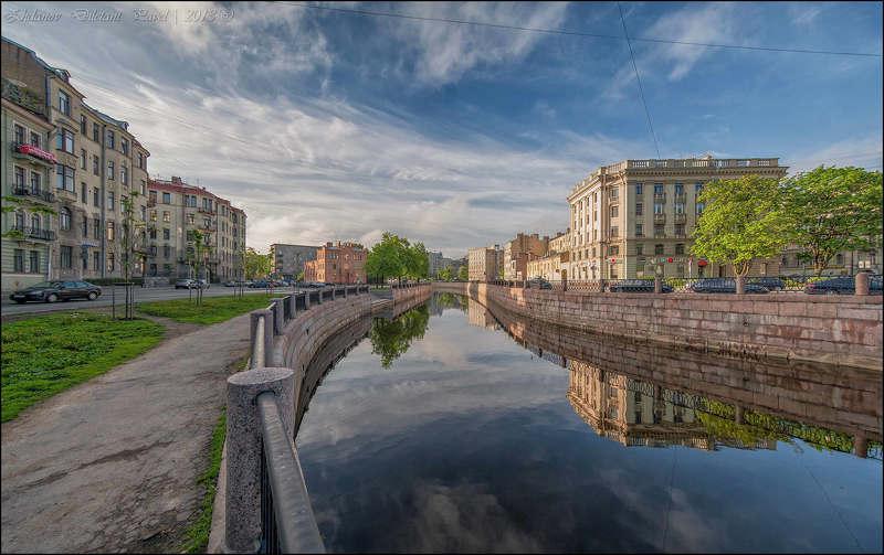Весна, Карповка, Санкт-петербург, Утро Весенним утром на Карповке.photo preview