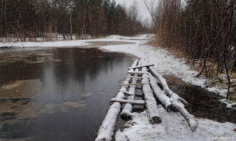 пейзаж снежный день 2. ноябрь.2020.photo preview
