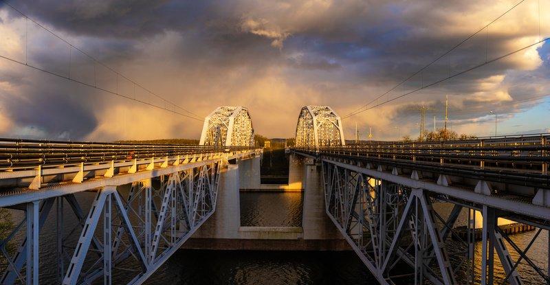 Evening stormphoto preview