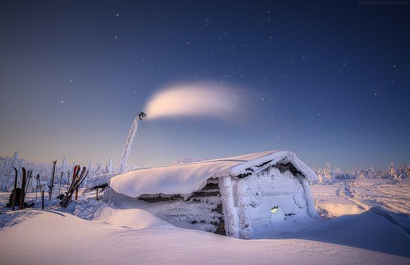 гух, урал, зима, россия, горы, снег, василийяковлев, яковлевфототур Лунная ночь на ГУХеphoto preview