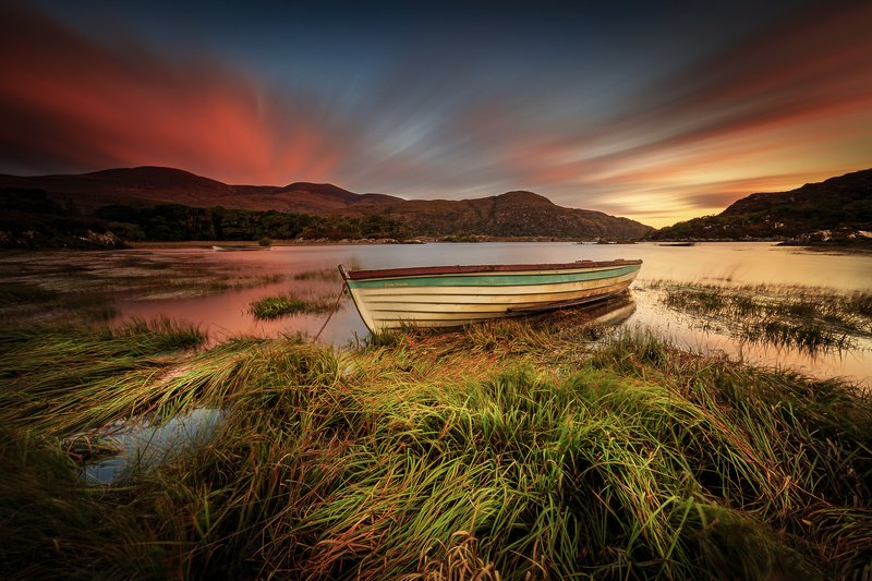long exposure, longexposure, Ireland, sunrise, sunset Killarney National Parkphoto preview