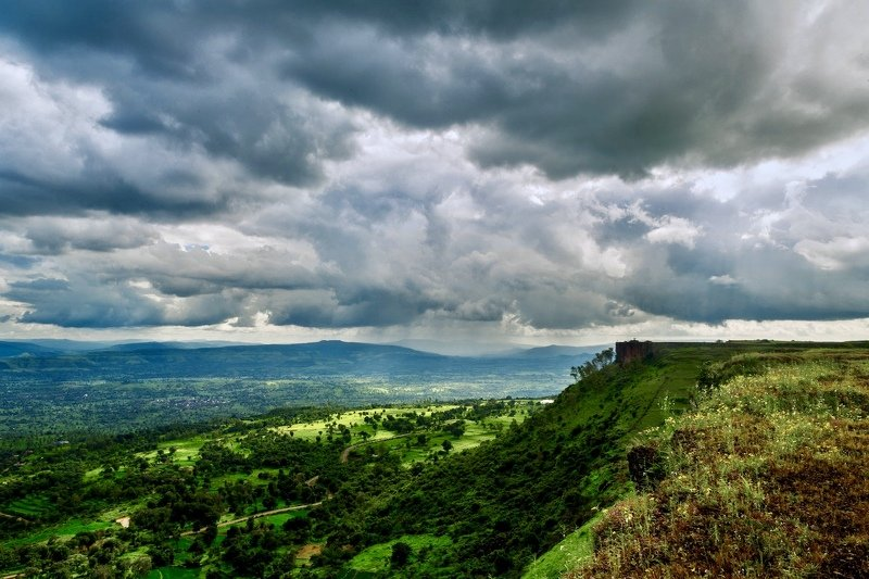 #monsoon #clouds #nature #india #mountain  Magical Monsoon photo preview