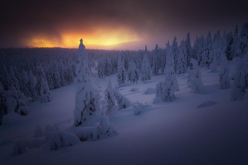 урал, таганай, горы Сквозь сумрачный рассветphoto preview