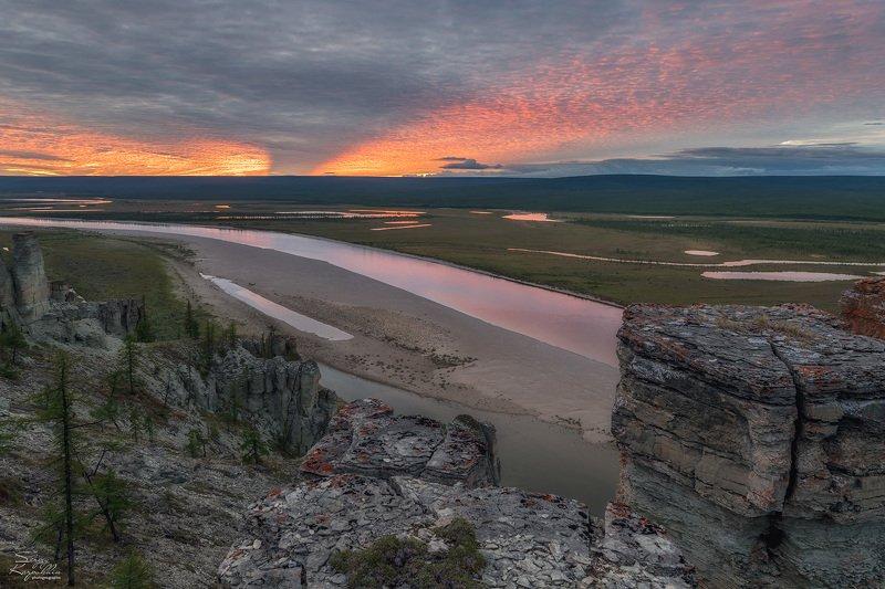 якутия, оленёк И небо созвучное реке...photo preview