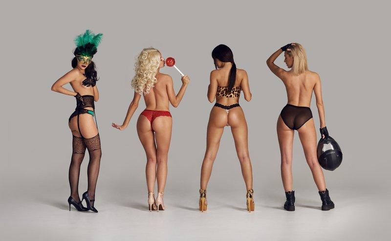 popkees, commercial, pants, studio, reclame, girl, ass, underwear, lingerie, present, advertising Popkeesphoto preview