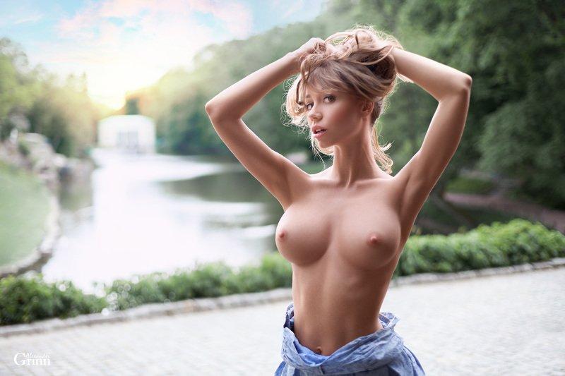 ню, топлесс, модель, грудь ***photo preview
