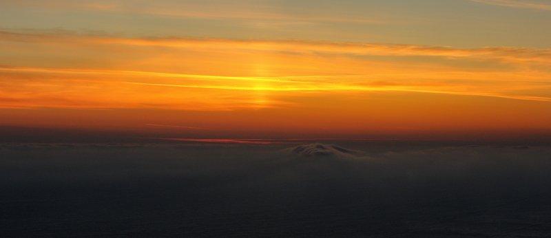 море, закат, облако Сон Черномора.photo preview