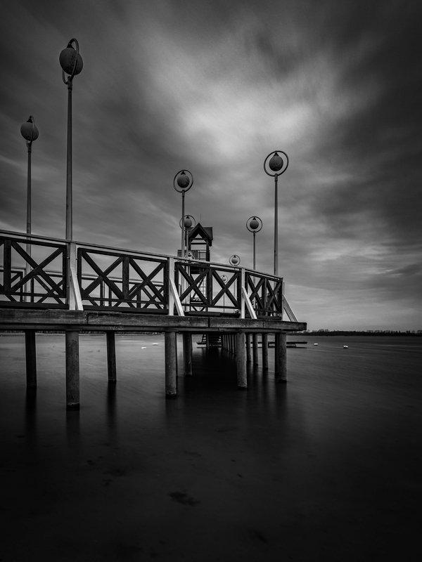 black&white, landscape, nature, dark Pogoriaphoto preview
