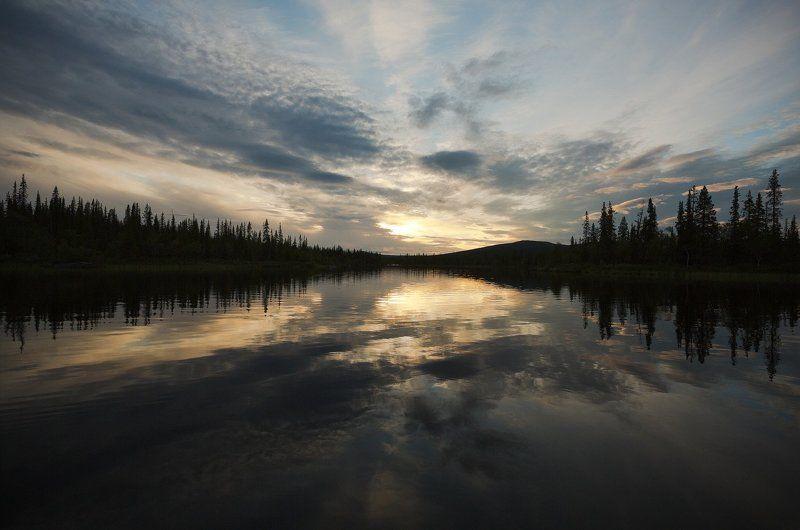 кольский, полуостров, озеро, чорвеч, лето *****photo preview