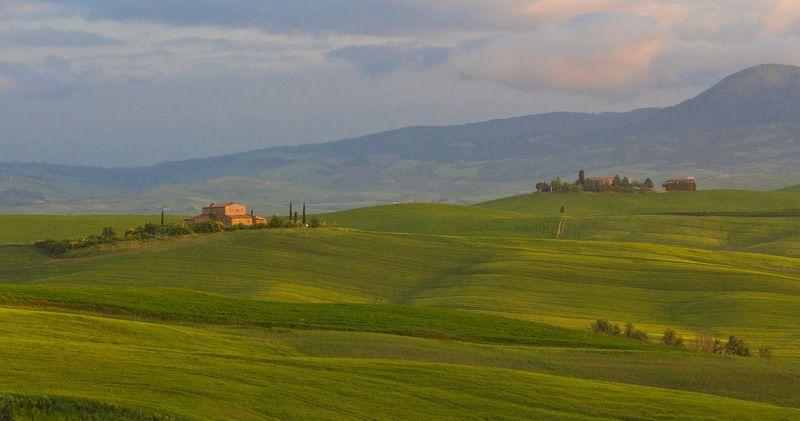 Закат, Тоскана ***photo preview
