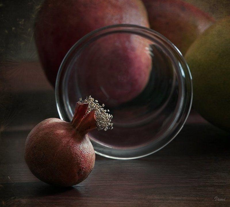 Гранатик стекло фрукты настроени Гранат..ик!photo preview